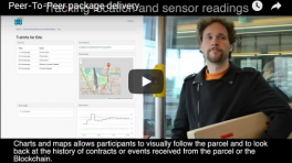 [VIDEO] Peer-To-Peer package delivery